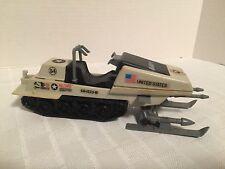 Vintage GI Joe Vehicle POLAR BATTLE BEAR Snowmobile - 100% Complete