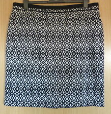 Business Cotton Blend Skirts Plus Size for Women