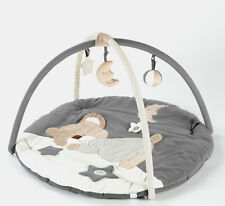 MiniDream Round Baby Playmat Play Gym Play Mat Activity Centre - Moon and Star