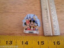 Disneyland Ernie name castle Disney Pin
