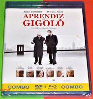 APRENDIZ DE GIGOLO / FADING GIGOLO -COMBO BLURAY + DVD- AREA 2/B - Precintada