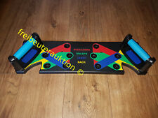 Push Up Board 9 in1 Home Muscle Builder Liegestützgriffe MultiBoard Multitrainer