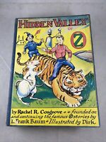 The Hidden Valley of OZ by Rachel R. Cosgrove & Illustrated by Dirk 1951 1st Ed