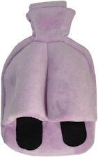 Vagabond Cosy Foot Warmer Hot Water Bottle Slipper: Lilac Cuddlesoft Fleece