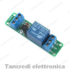 Modulo scheda a 1 relè relay canale optoisolato 250V 10A 5Vdc 5V arduino shield