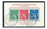 Berlin Sammlung gestempelt 1948-1988 komplett inkl. Block 1 II - Mi. 10.800,-