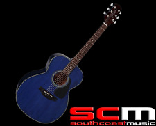 Takamine D2NBLU Acoustic Guitar NEX Body Blue Mahogany Spruce Rosewood