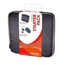 "Brand New Toshiba Mini Netbook Starter Pack TOSHSKM1 Toshiba 10"" Slip Bag"
