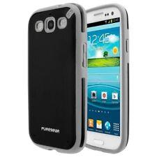Puregear Samsung Galaxy S3 Slim Shell Flexible Silicone Black Tea, 02-