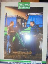 Prospekt Sales Brochure Deutz Fahr Plus Power Traktor Agroprima Agroxtra Technik