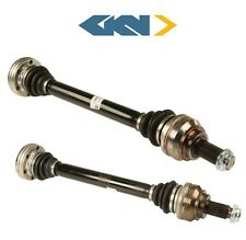 NEW BMW 135i 328i Pair Set of Rear Left and Right Driver Left CV Axle Shafts GKN