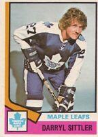 1974-75 OPC #40 Darryl Sittler Maple Leafs