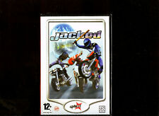 JACKED. MOTORBIKE RACING AND BATTLES ROAD RASH STYLE GAME FOR THE PC. BRAND NEW!
