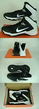 New Mens 18 NIKE Hyperquickness TB Black White High Top Shoes $105 599420-001