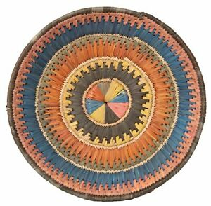 """Classic World Rugs 13"""" Inches Hand-Woven Southwestern Design Basket Brbsf-255"""