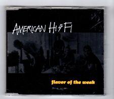 (IB141) American Hi-Fi, Flavor Of The Weak - 2001 DJ CD