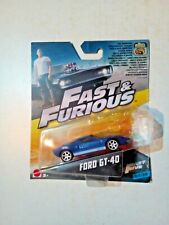 FAST AND FURIOUS 5 - FORD GT- 40  - 32/32 - MATTEL - 2017 - MINT IN BOX