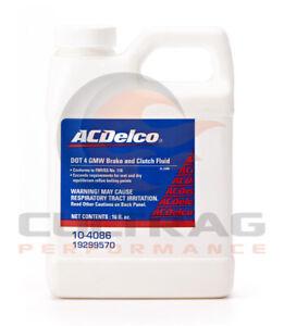 Genuine GM ACDelco DOT 4 Brake & Clutch Fluid 16oz 19299570