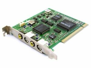 Pinnacle Systems Miro LAHVDRX-PCI-1 REDSD-660056-2.1 Video-In/Out Capture Card