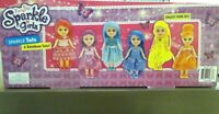 "Funville Sparkle Girlz Rainbow Tots 6"" Dolls New"