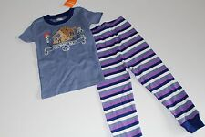 Gymboree Boys Size 6 Sleepwear PJ's NEW NWT 2PC Atomic Nut