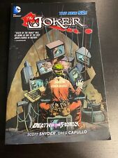 Joker: Death Of The Family Graphic Novel New 52 Batman Snyder DC Comics