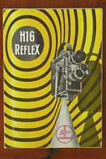 BOLEX H16 REFLEX SALES BROCHURE/60942
