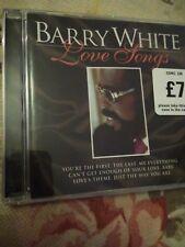 Audio CD. Barry White Love Songs!