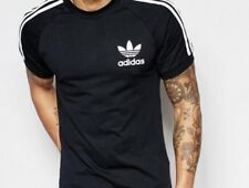 Adidas California T Shirt noir Petit £ 22!!! Offre limitée!