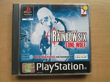 Playstation 1 - Rainbow Six Lone Wolf - Manual INCLUDED