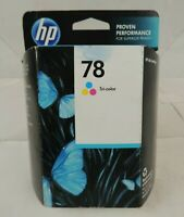 Genuine HP Inkjet Tri-Color Ink Cartridge 78 (C6578DN)