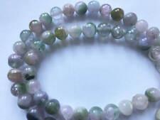 200ct  Beautiful Bi colour smooth round Tourmaline beads string T103