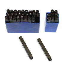 Letter And Number Punch Set Of 36 Piece 1/8 Inch - ALN-2382