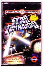 Star commando (Terminal) Amstrad-très bon état et complet