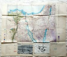 More details for wwii 1944 512 field survey engineers m.t. route map cairo almaza restricted air