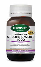 Thompsons One-a-day St Johns Wort 4000mg 60 Tablets