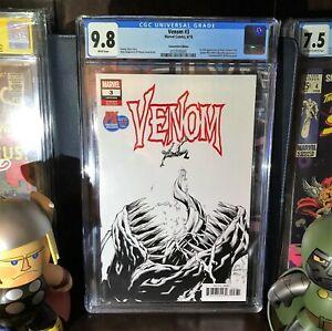 Venom # 3 *CGC 9.8* SDCC Edition 1:4000*