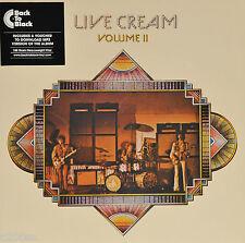 CREAM - LIVE CREAM VOLUME II, 2015 EU 180G vinyl LP + MP3, NEW! FREE SHIPPING!