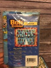 BOB THE BUILDER BLUE VALANCE WINDOW TREATMENT NEW