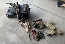 GI JOE & 21ST CENTURY LOT! Humvee Command Vehicle, 5 Figures, Jeep, Accessories!