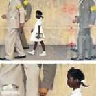 """48W""""x30H"""" PROBLEM WE LIVE WITH by NORMAN ROCKWELL CIVIL RIGHTS CHOICES of CANVAS"""