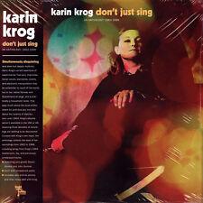 KARIN KROG DON'T JUST SING LIGHT IN THE ATTIC RECORDS VINYLE NEUF NEW VINYL 2 LP