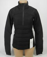 NEW LULULEMON Down For It All Pullover Jacket 6 8 Black 700 Fill Goose FREE SHIP
