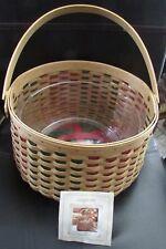 Longaberger 2003 Holiday Hostess Joyful Chorus Basket with Protector