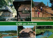 73212720 Jesteburg Fachwerkhaeuser Gemeindeverwaltung Spielplatz Schwimmbad Kana