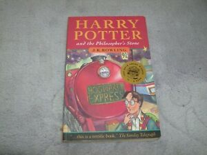 HARRY POTTER AND THE PHILOSOPHER'S STONE BY J. K. Rowling, FIRST EDITION, C.1997