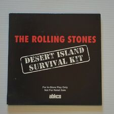 ROLLING STONES - Desert island survival kit - 1994 US 15-TRACKS PROMO CD