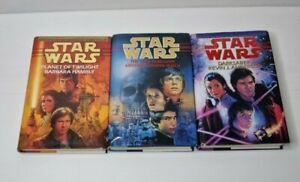 Star Wars Hardcover Books x 3