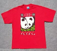AUTHENTIQUE T-Shirt USA, PANDAS Zoo SAN DIEGO Californie Taille L --- (TSUS_008)