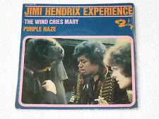 "JIMI HENDRIX PURPLE HAZE RARE FRENCH ORIGINAL ISSUE EP 7"""